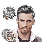 Play 'Do Temporary Hair Color, Gray Hair Wax, Hair Clay, Mens Grooming, Pomade, Silver hair dye(1.8 ounces) …