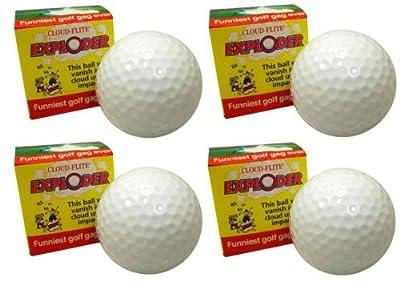 Exploding Golf Ball Four