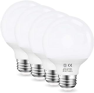 LED電球 E26口金 ボール形 12W 電球色 100W形相当 G80 全配光タイプ 1200ルーメン 断熱材 密閉器具対応 PSE認証済 一般電球 省エネ90% 明るい Alantis(4個入り)