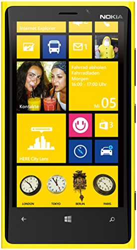 Nokia Lumia 920 Smartphone Windows Phone 8 Jaune
