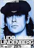 Udo Lindenberg - Udopia (1981) - Konzertplakat, Konzertposter