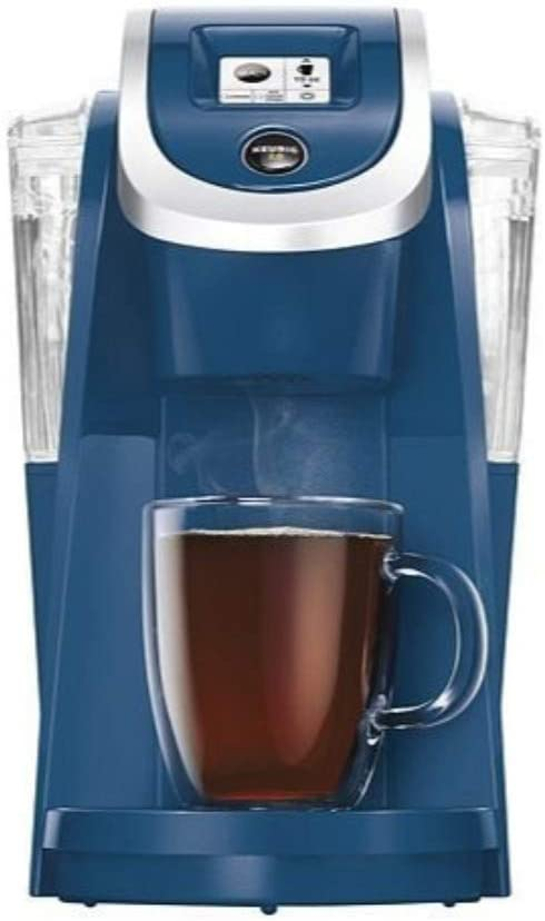 Keurig K250 Coffee Maker, Single Serve K-Cup Pod Coffee Brewer, With Strength Control, Denim Blue