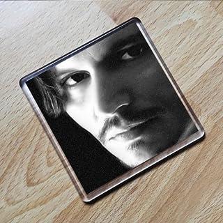 JOHNNY DEPP - Original Art Coaster #js002