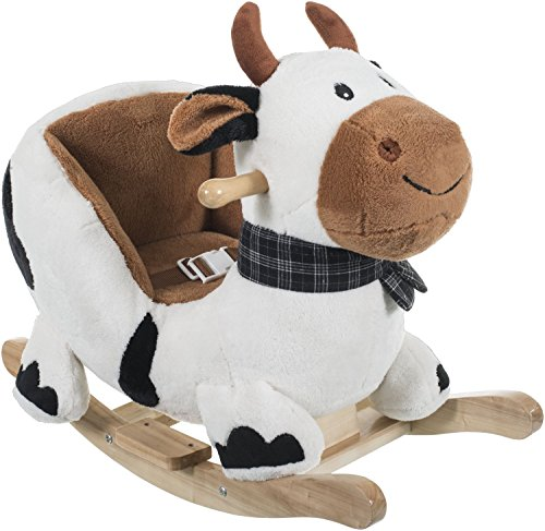 Bieco Plüsch Schaukeltier Kuh