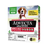 Advecta Ultra Flea and Tick Topical Treatment, Flea and Tick Control For Dogs, Medium 11-20 lbs, 4 Month Supply