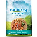 NUTRISCA Potato-Free, Low-Carbohydrate, Dry Cat Food for Adult Cats, Salmon Recipe, 13 lb.