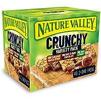 Nature Valley Crunchy Granola Bars Variety Pack 40 Bars x42gm Big Value pack