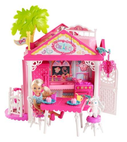 Barbie Mattel BDG50 - Set Casetta di Chelsea con Bambola e Accessori Vari
