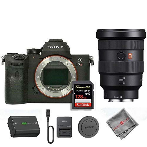 Lowest Prices! Sony A7R IV with Sony 16-35mm GM Lens and 128GB SD Card (International Model)