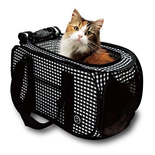 猫壱(necoichi) ポータブルキャリー 使わないときはコンパクトに収納できます