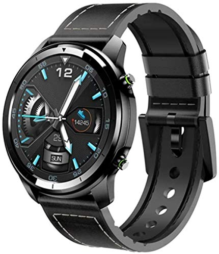 DHTOMC Reloj inteligente multifuncional deportes podómetro pulsera impermeable 1.3 pulgadas alta definición pantalla a color táctil bluetooth