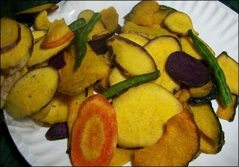 100% Max 62% OFF quality warranty Vegetable Chips - 17.99 lb