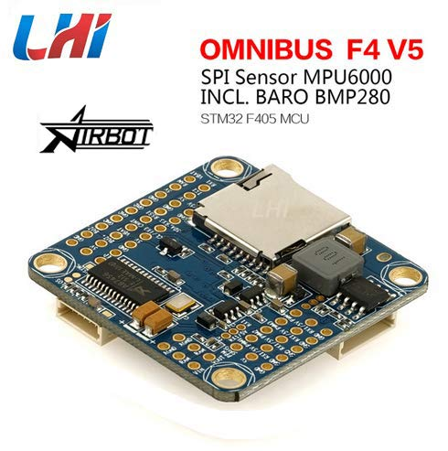 LHI Woafly AIO Omnibus F4 V5 Flight Controller Based on F405 MCU for FPV Racing Drone Quadcopter
