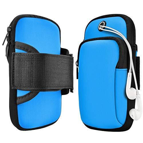 Armtasche,Armband Handy,Jogging, Arm JoggingTasche, Smartphone Laufen Sportarmband Schlüssel Halter für Handy Bis zu 7,0