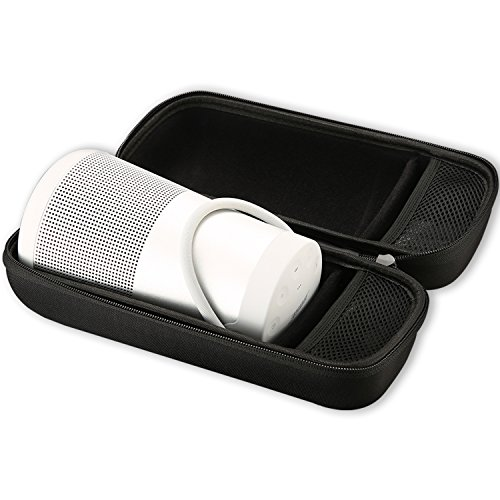 Bolsa de Viaje Bose SoundLink Revolve +, Bolsa de Viaje ProCase Bolsa de Viaje a Prueba de Golpes para Bose SoundLink Revolve + Plus Altavoz, Compatible con Cargador de Pared y Cable USB -Negro