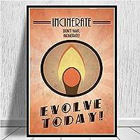 ウォールピクチャーホームデコレーションポスターとプリント絵画バイオショックラプチャービデオゲームレトロキッズギフトアートポスター (Color : 0010, Size (Inch) : 50x70 CM Unframed)