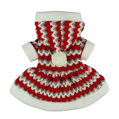 Fitwarm Christmas Party Knitted Dress
