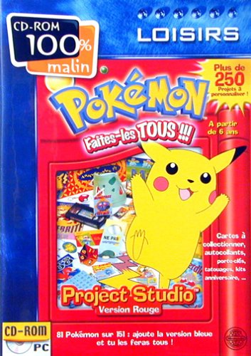 Cd Pokemon Rouge (Pc)