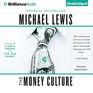 The Money Culture audiobook cover art
