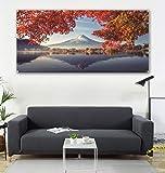 nothing Phoenix Baum, Schneeberge, Malerei & Flaggen zum Aufhängen, Wohnzimmer-Dekoration, Sofa-Hintergr&, 600d4 Schnalle, 100 x 150 cm