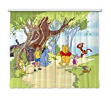 AG DESIGN xxl FCC 4012 Curtains Children's Curtain with Disney Winnie The Pooh