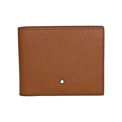 Montblanc Meisterstuck Selection 6 - Funda para tarjeta de crédito, color marrón