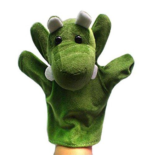 Alien Storehouse Animales de Peluche de Juguete de Felpa, Marionetas de Mano de cocodrilo