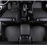 Alfombrillas Coche para Land Rover Evoque Discovery Sport Range Rover Velar Discovery 3/4/5 Freelander Alfombras Coche Y Moquetas para Coches, Negro