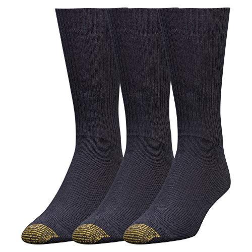 Gold Toe Fluffies Socken für Männer (Packung mit 3) 2018.10.13 Marine