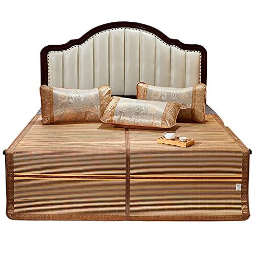 Colchón Bamboo, Colchoneta de Dormir Plegable Colchón Refrigerante Mano de Obra Fina Sin Espinas para la Casa Dormitorio Colchones Refrigerantes