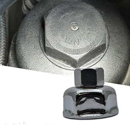 SANWAN - Llave de vaso para filtro de aceite (36 mm, acabado cromado brillante, 1/2 acción, para 8enz B-M-VV M52 M60 M73 V-VV)