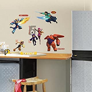 RoomMates Big Hero 6 Peel and Stick Wall Decals, ,