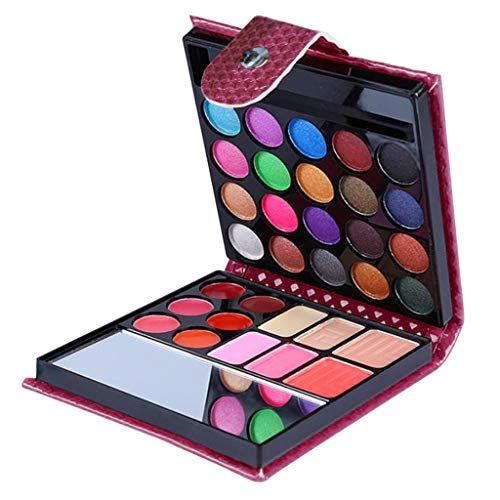 32 Farben Make-up-Palette, 32 Farben Lidschatten Make-up Kosmetik Lidschatten Blush Lipgloss...