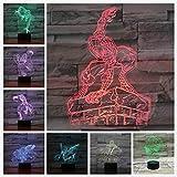 Medusas Animales Sensor táctil Cambio de Color luz Decorativa Kit Infantil para bebés luz Nocturna luz de mar luz Nocturna
