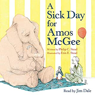A Sick Day for Amos McGee audiobook cover art