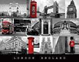 London - England - colourlight Städte Mini Poster Plakat