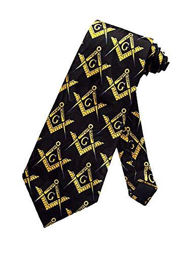 Masonic Square & Compass Tie Necktie D0026