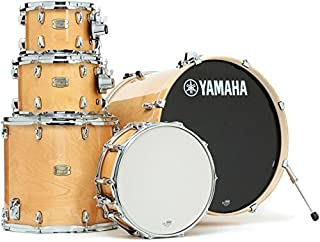 "Yamaha Stage Custom Birch 5pc Drum Shell Pack - 22"" Kick, Natural Wood"