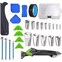 FMJIUGE 5 in1 Silicone Caulking Tool Kit