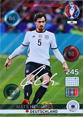 carte PANINI EURO 2016 #80 Mats Hummels
