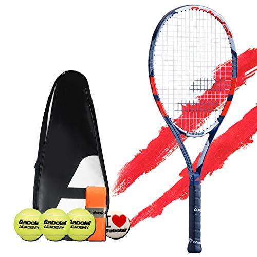 Racchetta da tennis Tennis Set Singolo for Principianti Maschile E Femminile in Materiale Composito di Carbonio