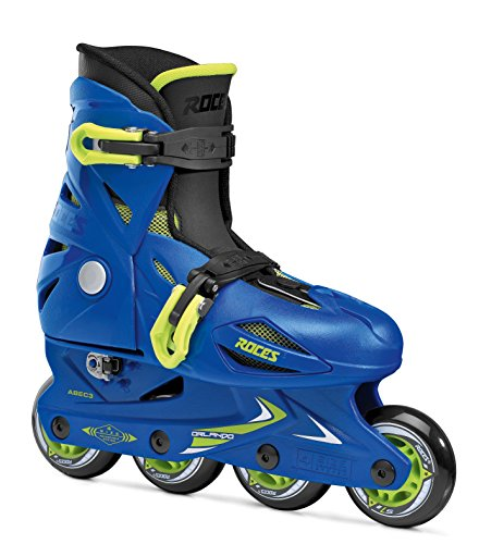 Roces Kinder Inline-skates Orlando 3, blue-lime, 30-35, 400687