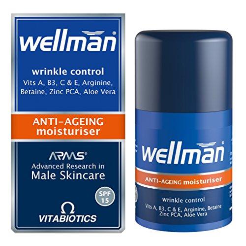 Vitabiotics Wellman Anti-Ageing Moisturiser - 50 ml
