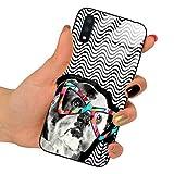 Funny Case Hartglas Case Jodi JDA122 kompatibel mit Samsung