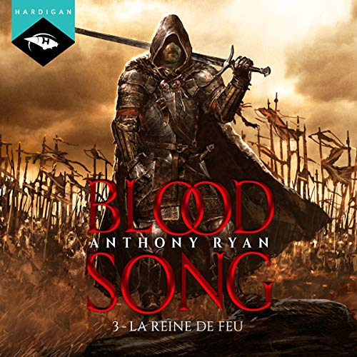 La Reine de feu audiobook cover art