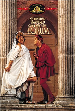 Amazon.com: A Funny Thing Happened on the Way to the Forum : Zero Mostel,  Phil Silvers, Buster Keaton, Michael Crawford, Jack Gilford, Annette Andre,  Michael Hordern, Leon Greene, Roy Kinnear, Alfie Bass,