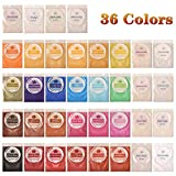Biutee Mica Powder 36 Colors pigments for Slime 5g/pcs Soap Making dye Skin Safe Resin Dye...