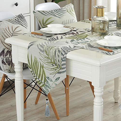 Branfan Tafel lopers Nordic stijl tafel salontafel lopers eenvoudige moderne tafelkleed TV kast decoratie doek 33 * 250CM_4