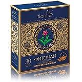 Té de Hierbas con Epilobium Angustifolium y Marsh Cinquefoil, tianDe 123918, Complemento Alimenticio, 30 paquetes de filtro de 1,5 g