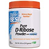 Best D Riboses - Doctor's Best D-Ribose with Bioenergy Ribose, Non-GMO, Vegan Review